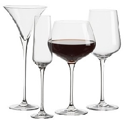 Бокалы, стаканы, рюмки