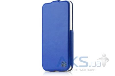 Чехол ITSkins Plume Precious for iPhone 5C Blue/Black (APNP-FETHR-BLBK)