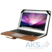 Вид 3 - Чехол Decoded Leather Slim Cover MacBook Air 13 Brown (D4MA13SC1BN)