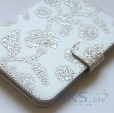 Обложка (чехол) Saxon Case для PocketBook Touch 622 Rose White