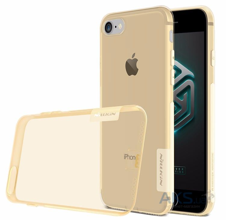 Чехол Nillkin Nature Series Apple iPhone 7 Transparent Gold