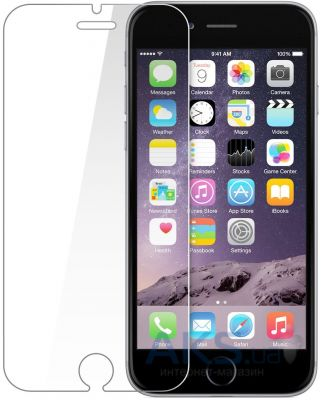 Защитное стекло Tempered Glass 2.5D Apple iPhone 6 Plus, iPhone 6S Plus (Тех. пак)