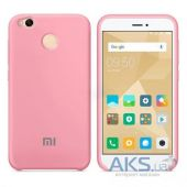 Чехол Xiaomi Soft Touch Case Redmi Note 5A Pink