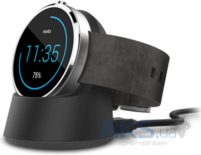 Зарядное устройство Motorola Moto 360 Wireless Charging Dock (Original) Black