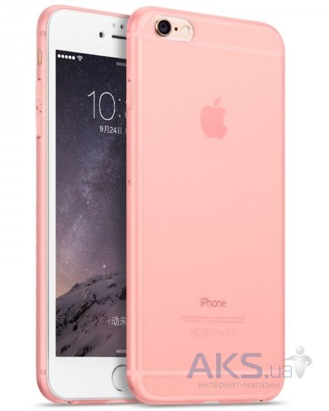 Чехол Hoco Defender Frosted Series Apple iPhone 6, iPhone 6S Pink