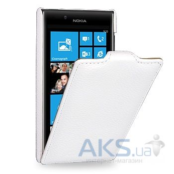 Чехол TETDED Leather Flip Series Nokia Lumia 720 White