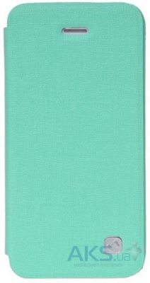 Чехол Hoco Star book leather case for iPhone 5C Mint Green (HI-L040)
