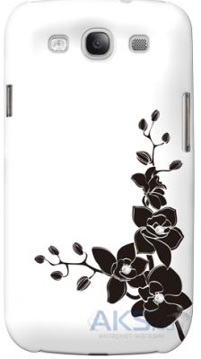 Чехол Bling My Thing Opaque Color Case for Samsung GALAXY S III Orchids White / Black (BMTS-21-04-17-01)