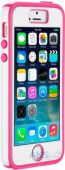 Вид 2 - Чехол Speck CandyShell + FacePlate Apple iPhone 5, iPhone 5S, iPhone SE White/Raspberry Pink (SPK-A2489)