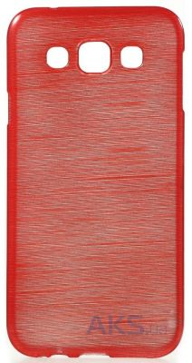 Чехол Original TPU Pearl Lines Samsung E500, DS Galaxy E5 Red