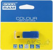 Вид 2 - Флешка GooDRam COLOUR 8 GB UKRAINE (PD8GH2GRCOBYR9) Blue/Yellow