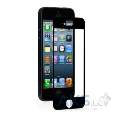 Защитная пленка Moshi iVisor XT Screen Protector for iPhone 5/5S/5C Black/Glossy (99MO020923)