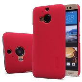 Вид 3 - Чехол Nillkin Super Frosted Shield HTC One M9 Plus Red