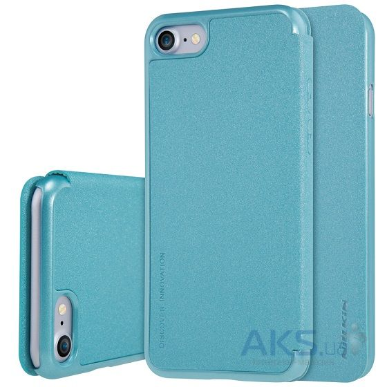 Чехол Nillkin Sparkle Leather Series Apple iPhone 7 Turquoise