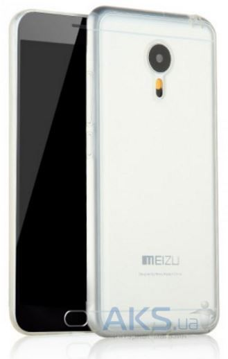 Чехол Original TPU+PC Meizu M2 Note Transparent