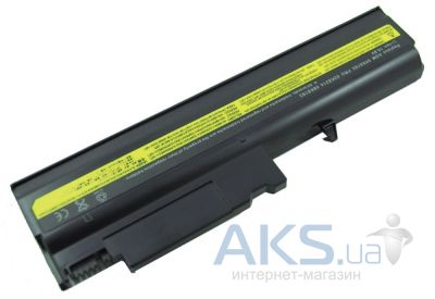 Аккумулятор для ноутбука Lenovo IBM T40 (ASM 08K8192, IB T40 3S2P) 10,8V 5200mAh (NB00000006) PowerPlant Black