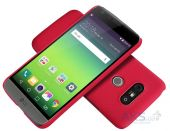 Вид 2 - Чехол Nillkin Super Frosted Shield LG H850 G5 Red