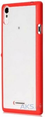 Чехол Rock Enchanting Series Sony Xperia T3 D5102 Red