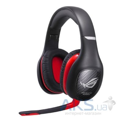 Наушники (гарнитура) Asus VULCAN-PRO/BLK/ALW+UBW/AS Black