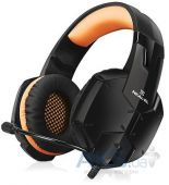 Гарнитура для ПК REAL-EL GDX-7700 Surround 7.1 Black/Orange