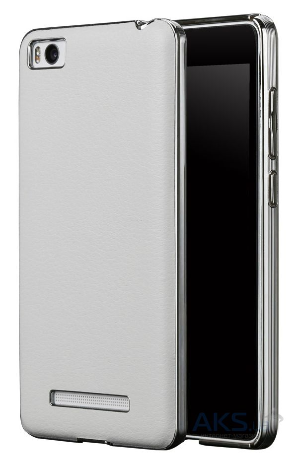 Чехол Slenky Buisness Leather Series Xiaomi Mi4i, Mi4c White