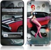 Защитная пленка GelaSkins Hot Bomb for iPod touch 4G
