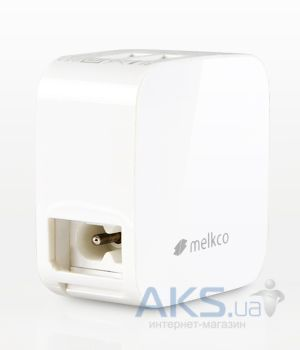 Зарядное устройство Melkco traveller chargers 2 USB (MKTRT1WE) White