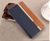 Вид 2 - Чехол Original Book Stripe Series Doogee Y300, Y300 Pro Black - Brown