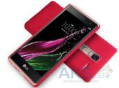 Вид 2 - Чехол Nillkin Super Frosted Shield LG H650E Class, H650 Zero Red