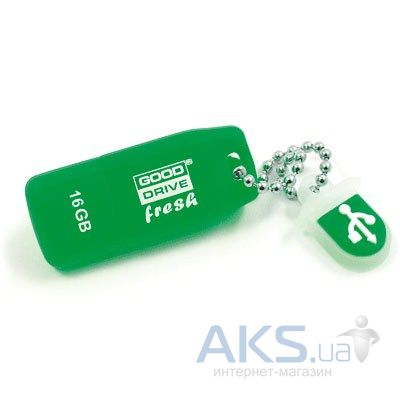 Флешка GooDRam 16Gb Fresh Mint (PD16GH2GRFMR9) Green