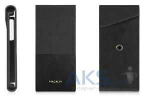 Чехол Macally Flip Case W. Rotatable Stand For iPhone 5C Black (SSTANDP6-B)
