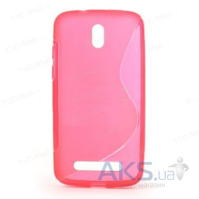 Чехол Celebrity TPU cover case HTC Desire 500 Pink