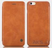 Вид 4 - Чехол Nillkin Qin Leather Series Apple iPhone 6, iPhone 6S Brown