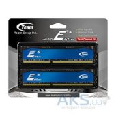 Вид 2 - Оперативная память Team DDR3 8GB (2x4GB) 1600 MHz Elite Plus Blue (TPBD38G1600HC11DC01)