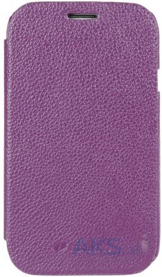 Чехол Melkco Book leather case for Samsung i9080/i9082 Galaxy Grand Duos Purple (SSGD82LCFB2PELC)