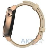 Вид 5 - Умные часы Motorola Moto 360 2nd Generation 42mm Stainless Steel with Rose Gold Leather Strap