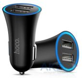 Hoco Dual Car Charger (2,4 A) Black