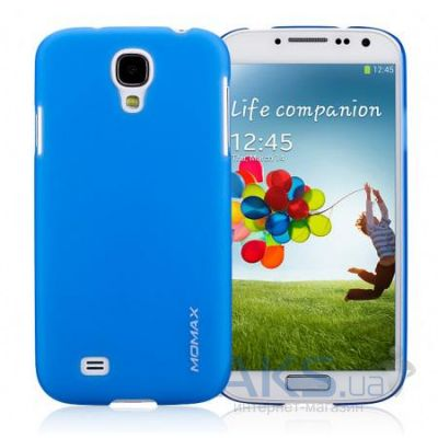 Чехол Momax Ultratough Transparent case for Samsung i9500 Galaxy S IV Blue