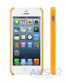 Вид 2 - Чехол JisonCase Fashion Wallet Case for iPhone 5/5S Yellow/Orange (JS-IP5-01H80)