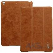 Чехол для планшета JisonCase Vintage Leather Smart Case for iPad Air Brown [JS-ID5-01A20]