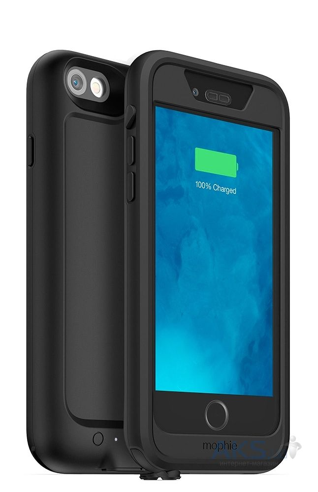 Внешний аккумулятор Mophie Juice Pack H2PRO 2750 mAh for iPhone 6/6S Black (3069-JPPRO-IP6-BLK)
