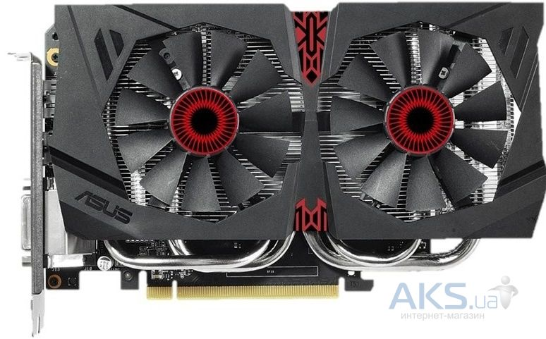 Видеокарта Asus GeForce GTX960 2048Mb STRIX DC2 OC (STRIX-GTX960-DC2OC-2GD5)
