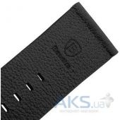 Baseus iWatch Genuine Leather Strap Malibu Series for Apple Watch 38mm Black