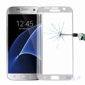 Защитное стекло Tempered Glass 3D Full Cover Samsung G935 Galaxy S7 Edge White