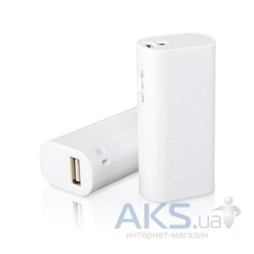 Внешний аккумулятор power bank Yoobao Power Bank 2200 mAh Elfin YB-6101 [PBYB6101-WT]