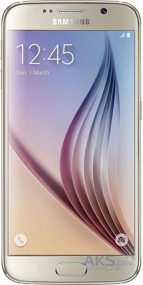 Мобильный телефон Samsung G920 Galaxy S6 32GB Gold Platinum