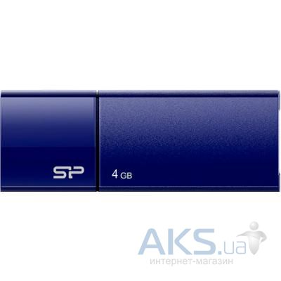 Флешка Silicon Power 4GB Touch U05 USB 2.0 (SP004GBUF2U05V1D) Blue