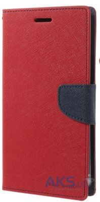 Чехол Mercury Fancy Diary Series Samsung A700 Galaxy A7 Red - Blue