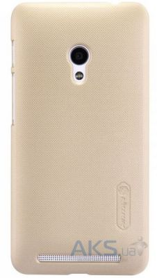 Чехол Nillkin Super Frosted Shield Asus Zenfone 4 A450CG Gold