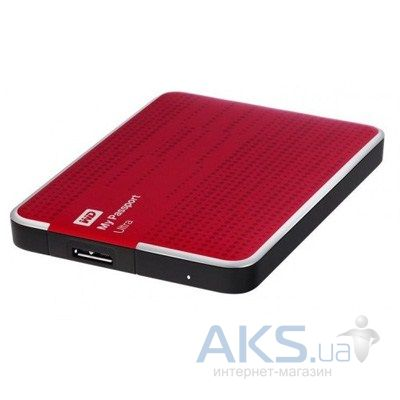 Жесткий диск внешний Western Digital 2.5 2TB My Passport Ultra (WDBMWV0020BRD-EESN) Red